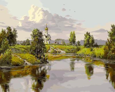 Картина по номерам на подрамнике GX9829, Прищепа Игорь, Русь