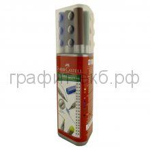 Ручка капиллярная 10шт.Faber-Castell трехгранный корпус, пенал FC151611