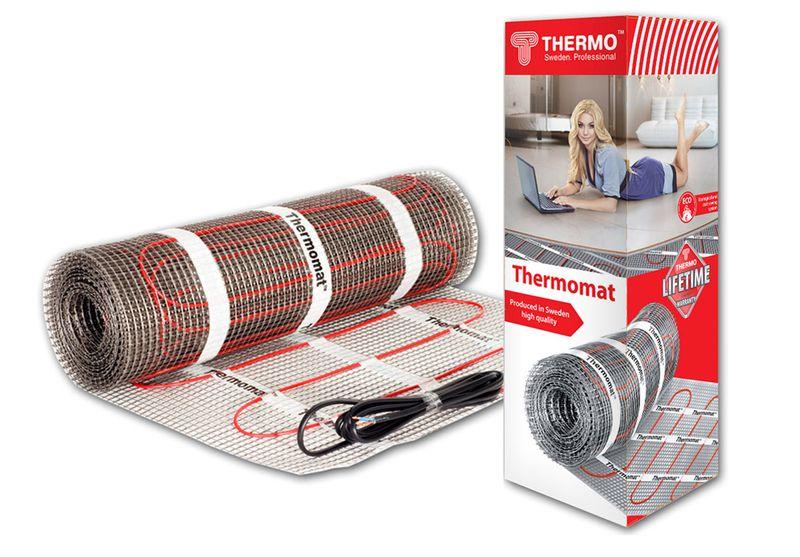 Нагревательный электрический мат Thermomat TVK-180 - 4 (площадь обогрева 4,0 м2)