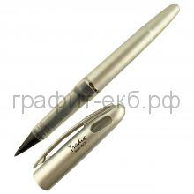 Ручка капиллярная Pentel Tradio Stylo серебристая черная ТRJ74-A