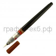 Ручка-кисть Pentel Color Brush для каллиграфии коричн. GFL-106/XGFL-106