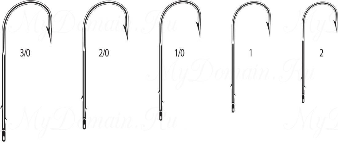 """Крючок Cannelle 1327 N № 2 уп. 10 шт. (никель,кованный,поддев """"абердин"""",две бородки на длинном цевье)"""