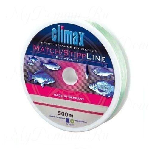 Леска Сlimax Match-Stip Line Mono (светло-зеленая) 100м 0,12мм 1,5кг