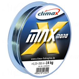 Леска Сlimax X-Max Mono (темно-зеленая) 100м 0,10мм 1,1 кг