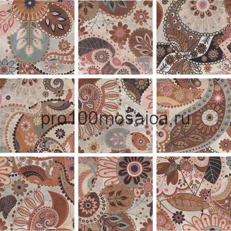 PT02424 Mainzu Verona Decor Print Beige (Mix 9) 20x20 см (MAINZU)