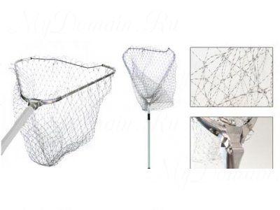 Подсачник RUBICON треугольный 2,50m 70x70, металл. крепление, капрон