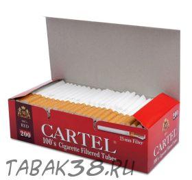 Гильзы сигаретные CARTEL RED 200 шт