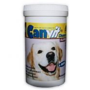 Canvit Chondro Super Таблетки с глюкозамином, хондроитином, МСМ и гидролизатом коллагена для регенерации суставов и улучшения их подвижности у собак (250 г)