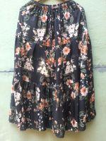Летняя юбка в пол, с цветами. Индия. Доставка по всему миру. Цена 900 руб.