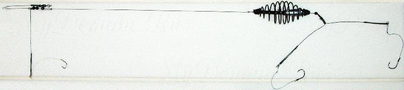 Донная оснастка, спираль, 25г, кр. №8