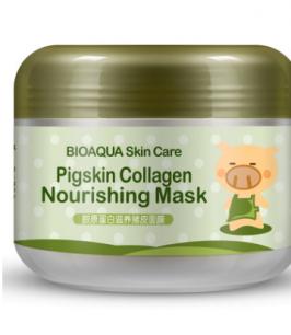 Питательная коллагеновая маска «BIOAQUA» Pigskin collagen nourishing mask.(0504)