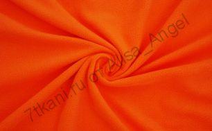 Оранж полар-флис отрез 1,05м (ширина 1,45м)