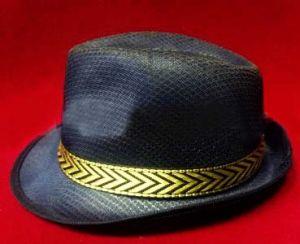Шляпа Гангстера (темно-синяя)