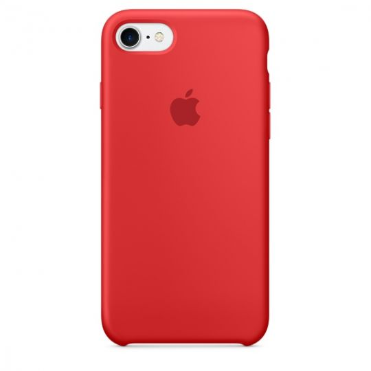 Silicone Case для iPhone 7,iPhone 8 (PRODUCT)RED
