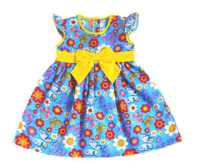 Платье для девочки Летний день