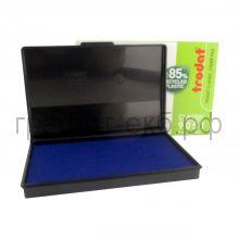 Подушка штемп.90х50 синяя Trodаt 9051