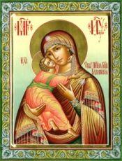 Владимирская икона БМ (рукописная на заказ)