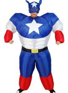 Костюм Супермена надувной