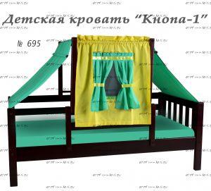 Кровать Кнопа-1 (Ромашка), 2 размера