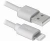 USB кабель ACH01-03BH белый, USB(AM)-Lightning, 1м
