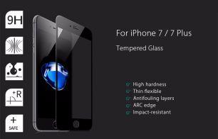 Защитное 3D стекло на iPhone 7 Plus