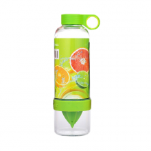 Бутылка соковыжималка Citrus Zinger, цвет зеленый