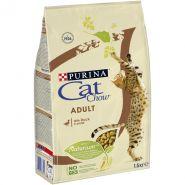 CAT CHOW Adult Duck Корм для кошек с уткой (1,5 кг)
