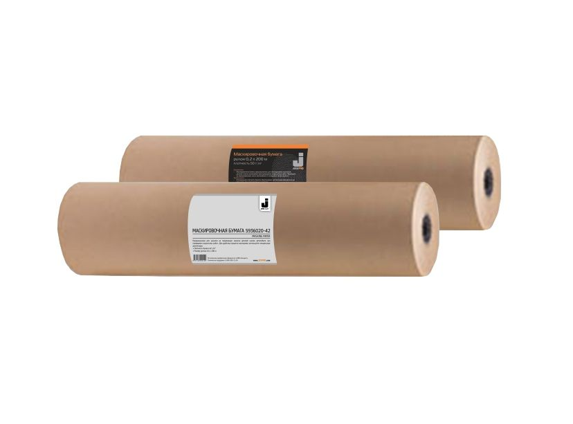 Jeta Маскирующая бумага, плотность 42 г/м2, 900мм. х 200мм., (2 рулона)