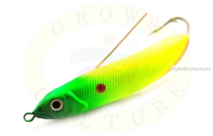 Купить Блесна незацепляйка Grows Culture Minnow Spoon 6019 60мм / 10 гр заглубление: 0,1 - 0,5м/ цвет: 007