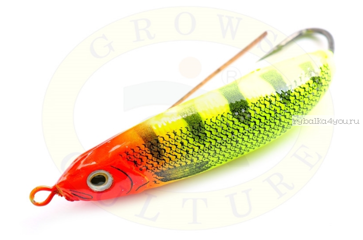 Блесна незацепляйка Grows Culture Minnow Spoon 6019 70мм / 14 гр / заглубление: 0,1 - 0,5м/ цвет: 015