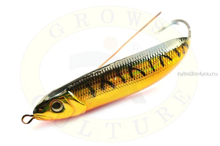 Блесна незацепляйка Grows Culture Minnow Spoon 6019 70мм / 14 гр / заглубление: 0,1 - 0,5м/ цвет: 014
