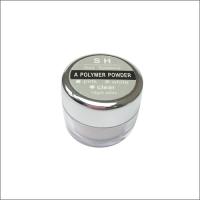 SH Акриловая пудра для ногтей прозрачная (clear), 15 г