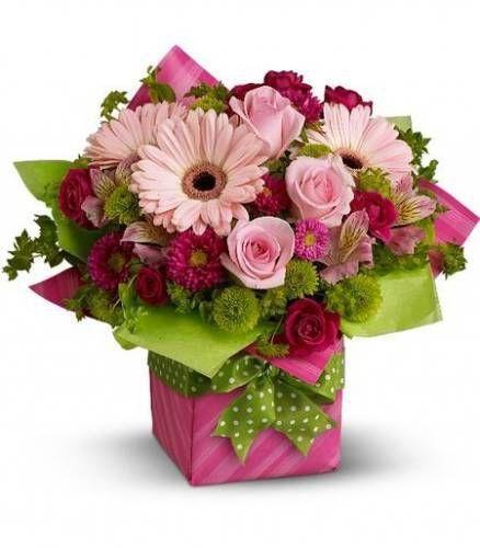 Подарочные цветочные корзины АССОРТИМЕНТ