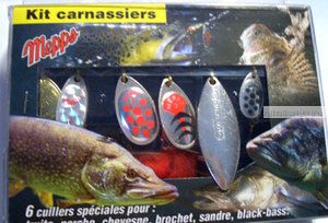Набор Mepps Aglia Kit Carnassiers 6
