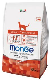 Monge Senior Корм для пожилых кошек (1,5 кг)
