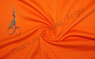 Оранж апельсин интерлок отрез 1м (смаз)