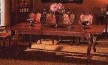 Стол обеденный Р 54  А красный орех