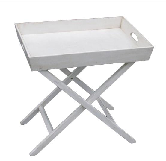 Раскладной столик Mobilier de Maison Белый