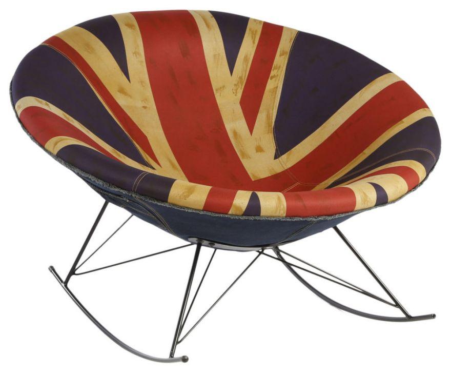 Кресло-качалка HE328/UK Flag (Без модели)