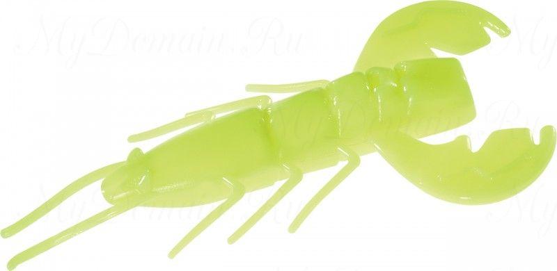 Рачок MISTER TWISTER MISTER TWISTER Exude Fan Tail Shrimp 6 см. уп. 15 шт. DA10LS - Silktr/Lum (съедобная, лимонный люминесценто-ламинированный) NEW