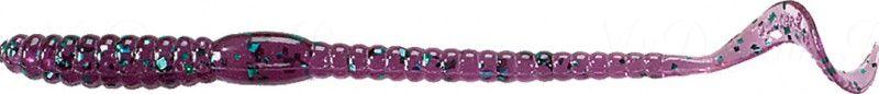 Червь MISTER TWISTER Phenom Worm 15 см уп. 10 шт. 13GHS (июньский жук с изумрудными блестками) фирменная упаковка