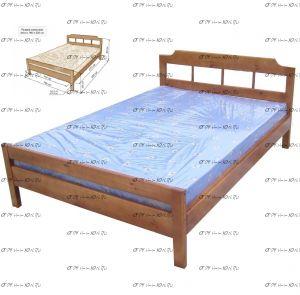 Кровать Дачная-1