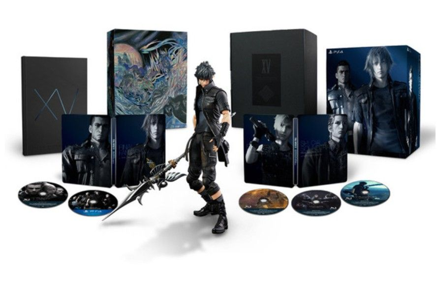 Final Fantasy XV. Ultimate Collector's Edition PS4