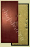 металлические входные двери эконом класса