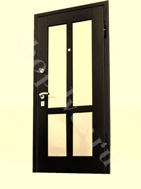 Металлические двери искусственный камень