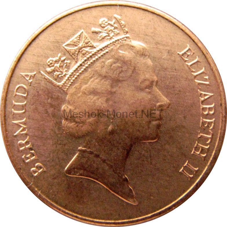 Бермудские острова 1 цент 1998 г.