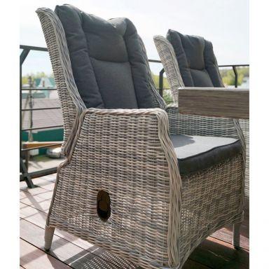 Регулируемое кресло ВЕРОНА в комплекте с подушками