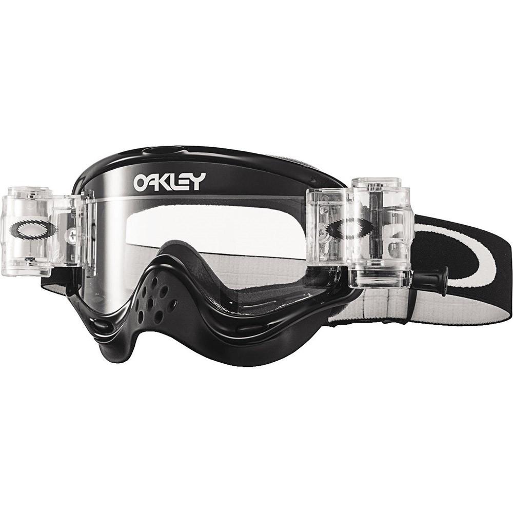 Oakley - O-Frame MX Solid Roll-Off очки черные с системой очистки