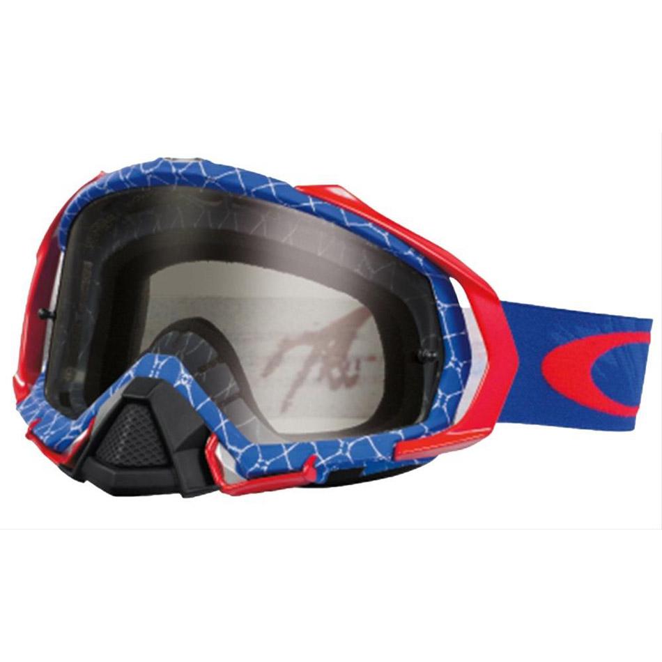 Oakley - Mayhem Pro Reaper очки красно-синие, линза темно-серая