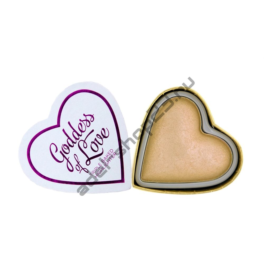 "I Love MakeUp - Хайлайтер ""I Heart Makeup Blushing Hearts - Golden Goddess"""